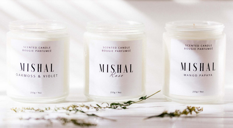 Candle-Line-Product-Photography