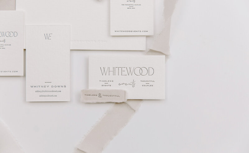 Stamped & Finch Brand Collateral by Rhema Design Co.