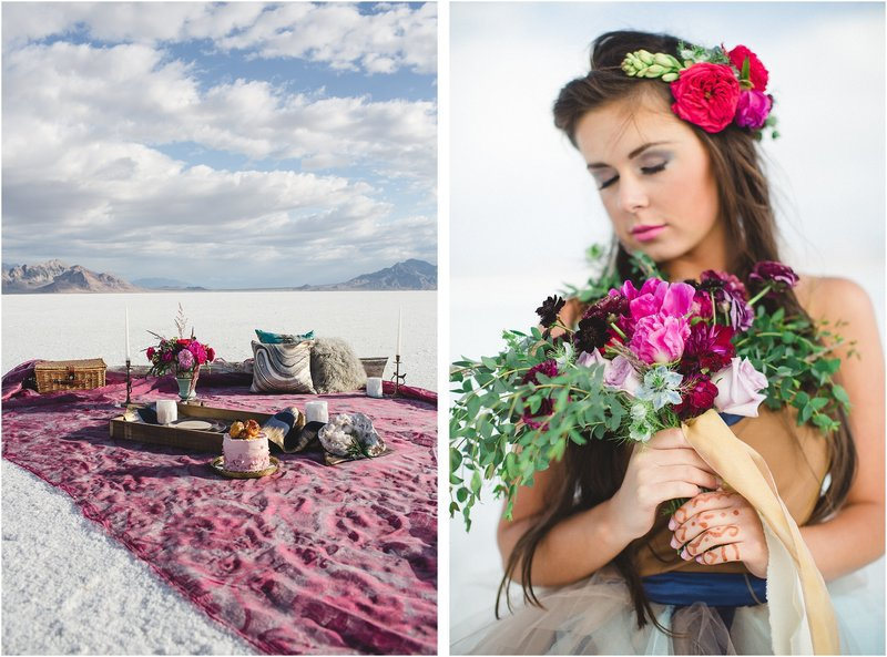 Salt Flat Utal wedding photographer