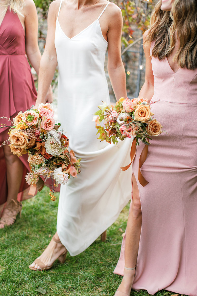 Magdalena Studios Bohemian Stylish and Chic Fall Wedding at Terrain Anthropologie_30