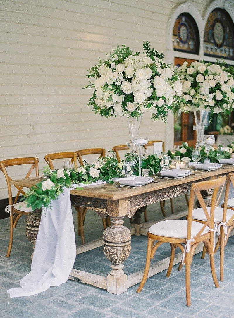 Posh Peony Mission Newhall Mansion Piru lush white floral and greenery Wedding Flowers_0024