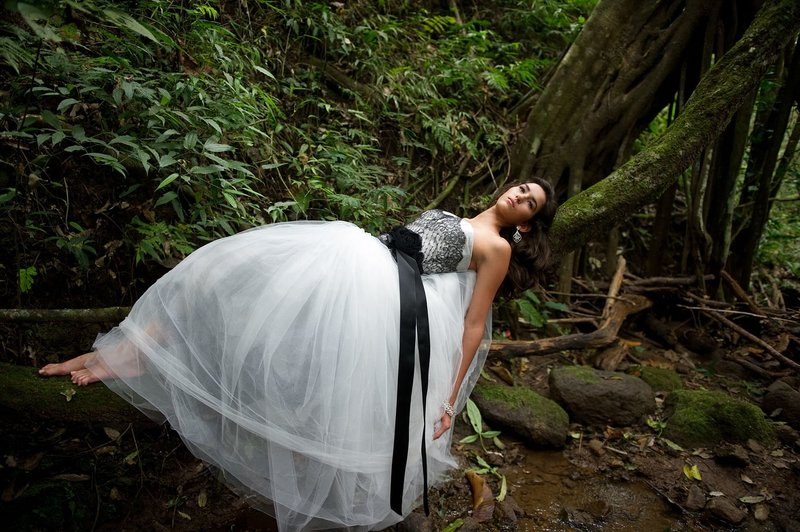 Destination mountain wedding in the hills of Costa Rica
