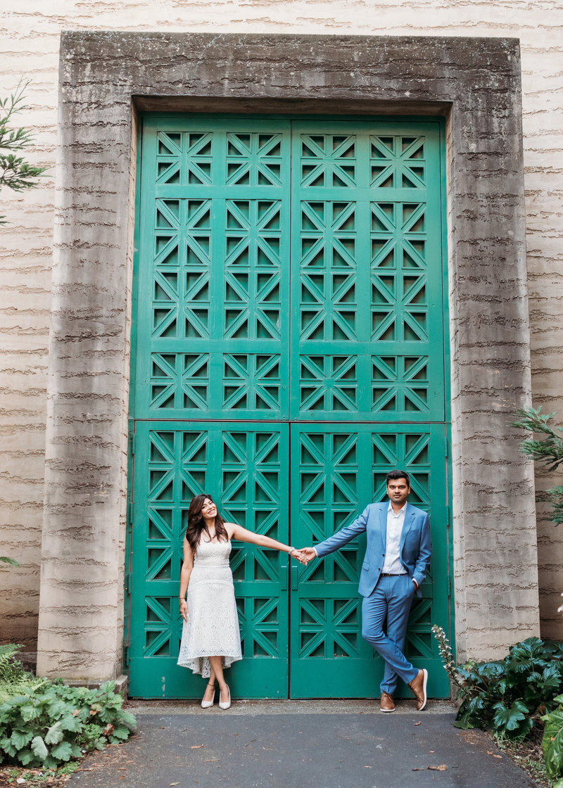 Post San Francisco City Hall  wedding photoshoot palace of fine arts green doors