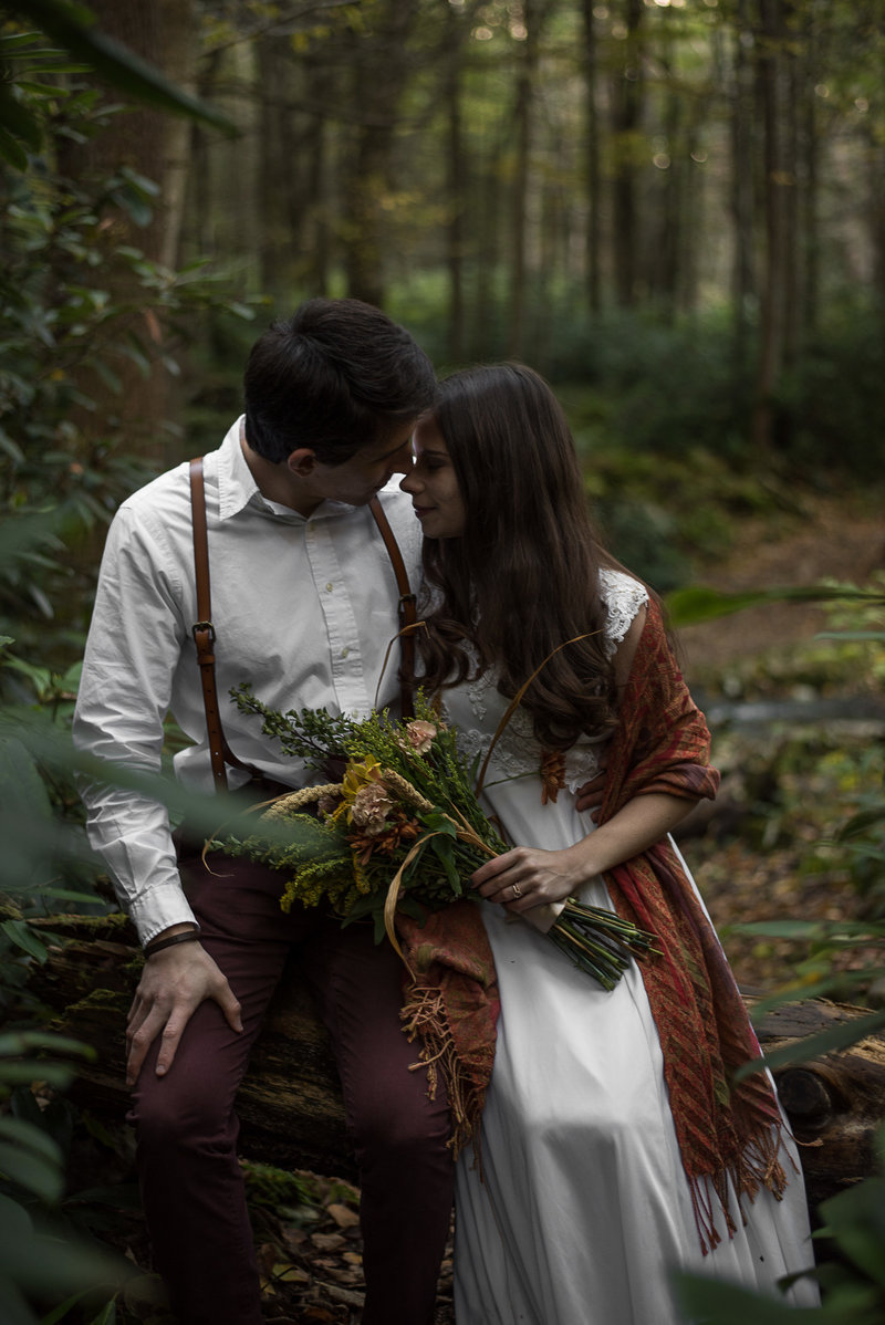 Samantha Hill Rodgers Photography Forest Elopement Pennsylvania_-22
