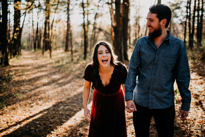Late Fall Engagement Session at August Busch Wildlife Reserve-4