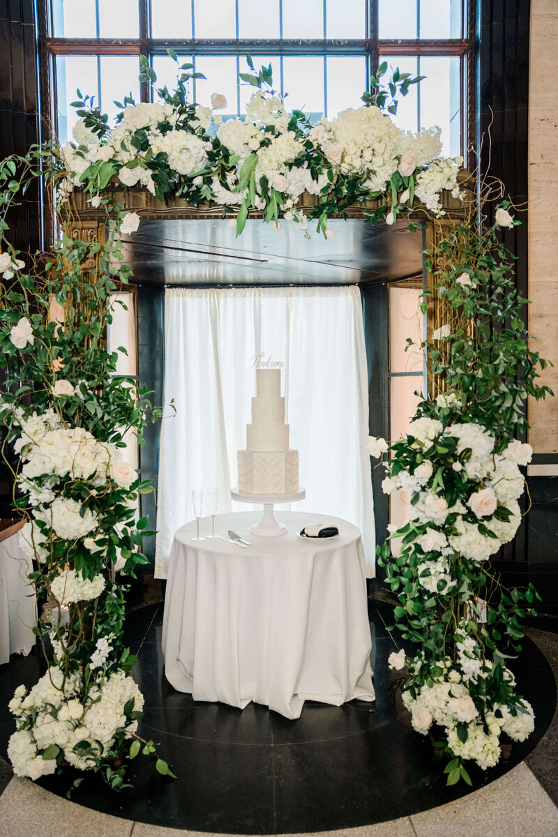 Wedding reception at The Carlisle Room by White Orchid Photography