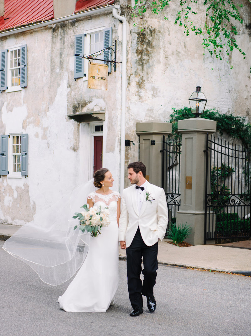 Charleston Wedding Photography at the Gadsden House