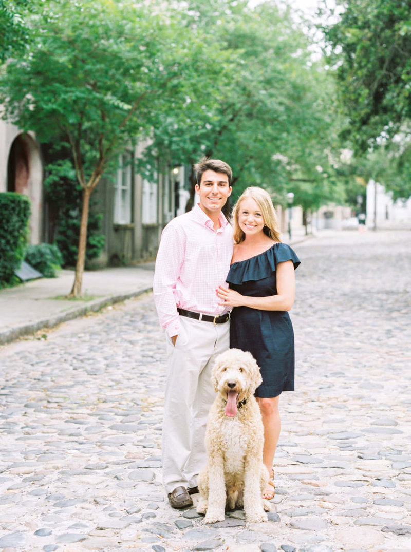 folly-beach-south-carolina-engagement-portraits-dog-11