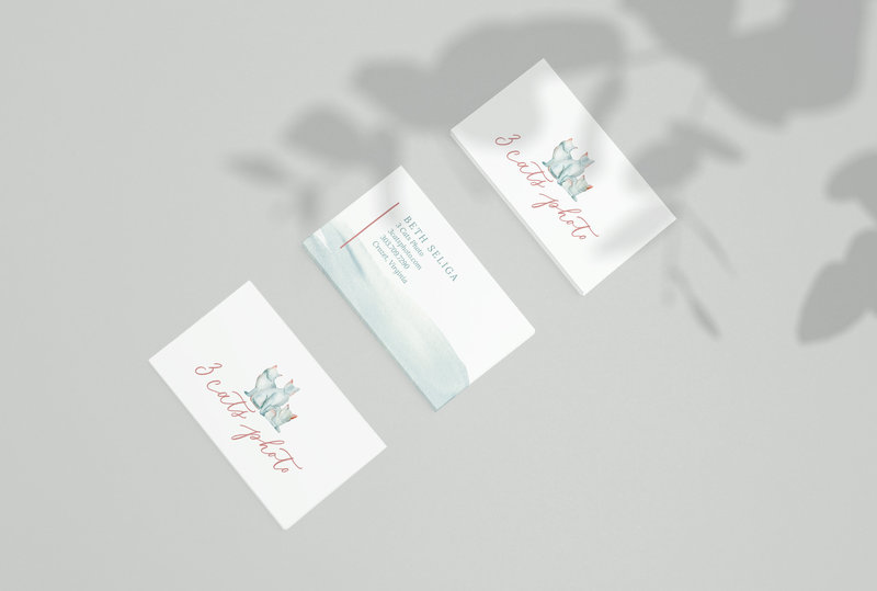 Three-cats---business-card-design-by-Sarah-B-Calligraphy