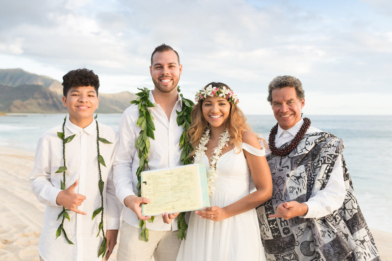 Oahu Wedding ministers - Kimo Taylor