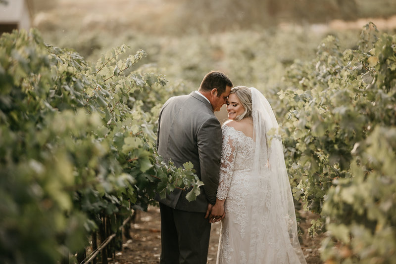 Lindsey + Ryan Winery Wedding | Tin Sparrow Events + Liz Robinson Photography