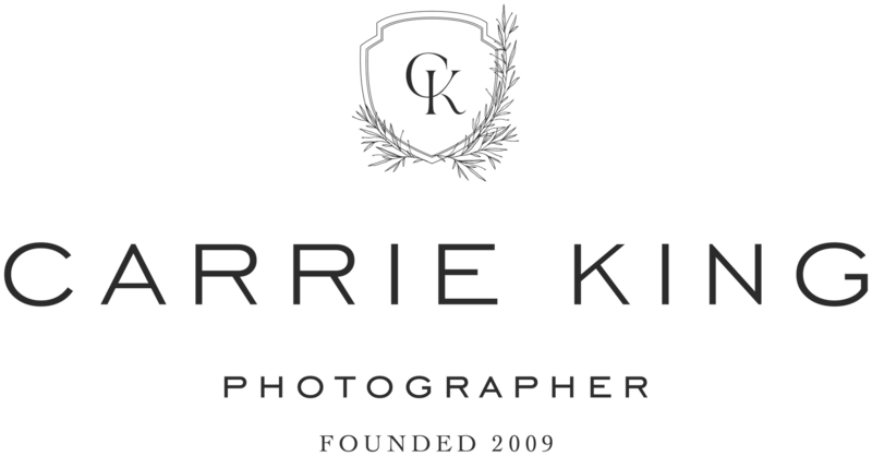 Carrie King Photography - Custom Brand Logo and Showit Web Website Design by With Grace and Gold Best Showit Designers - 1