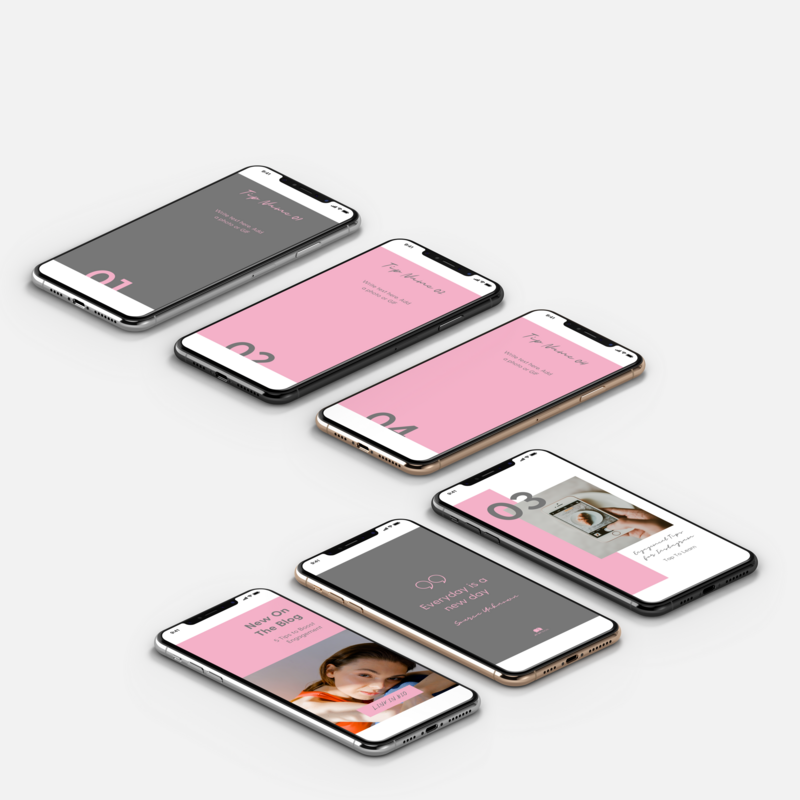 Instagram template design