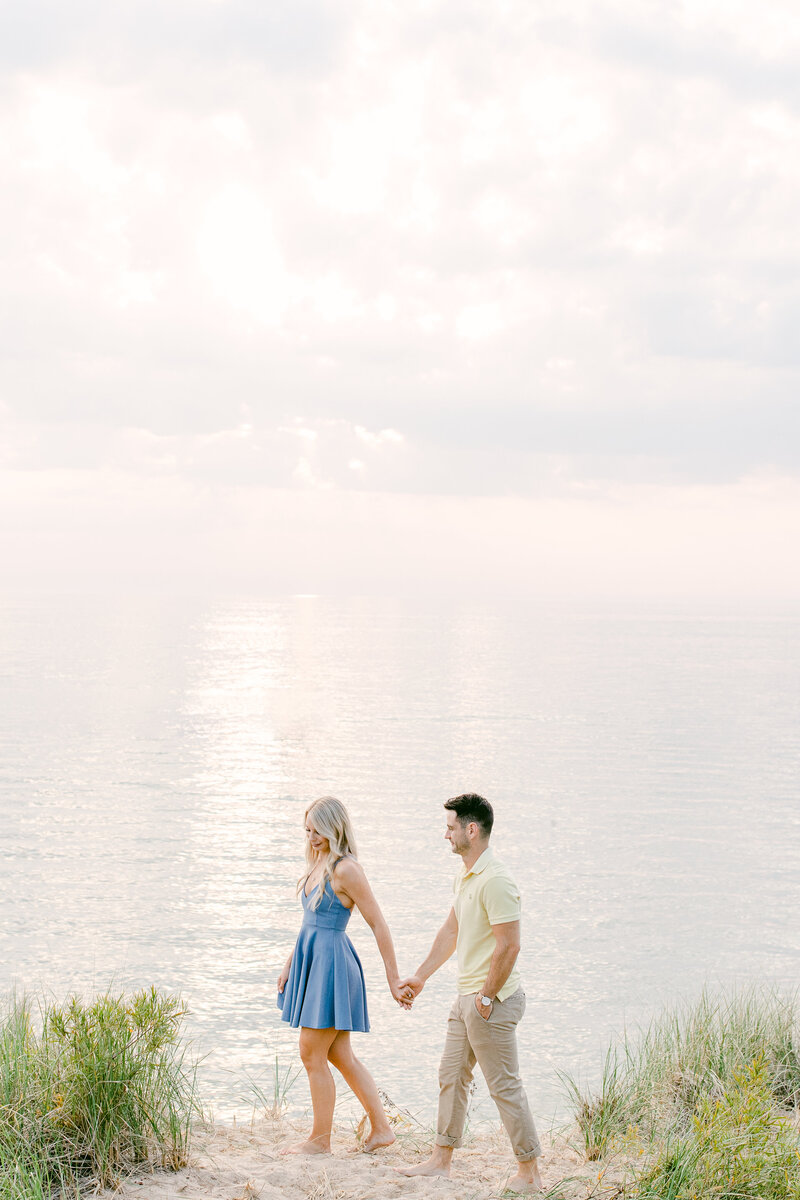 Leidy and Josh Photography | Holland Beach Engagement-0891