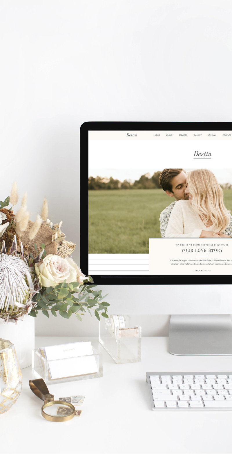 With Grace and Gold - Showit Designer, Designers, Design, Designs, Template, Templates, Theme, Themes - Branding and Web Design Website Design for Creative Women in Business