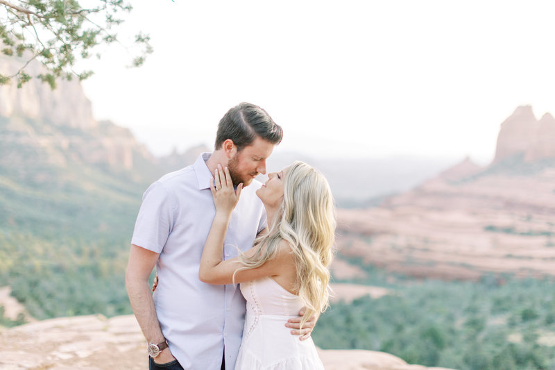 sedona couples engagement wedding