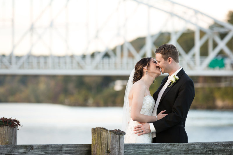 Full gallery of wedding photos from The RIverhouse at Goodspeed Station.