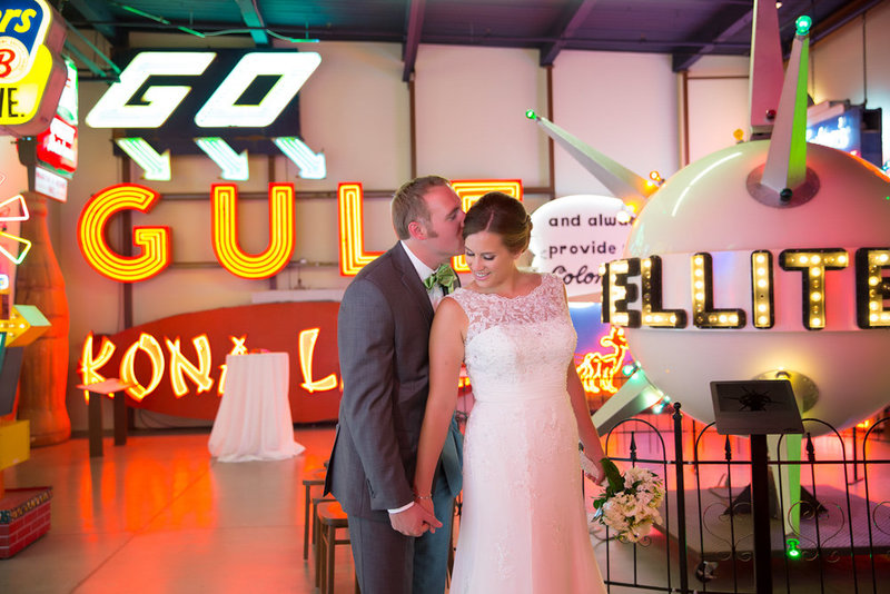 American Sign Museum Wedding