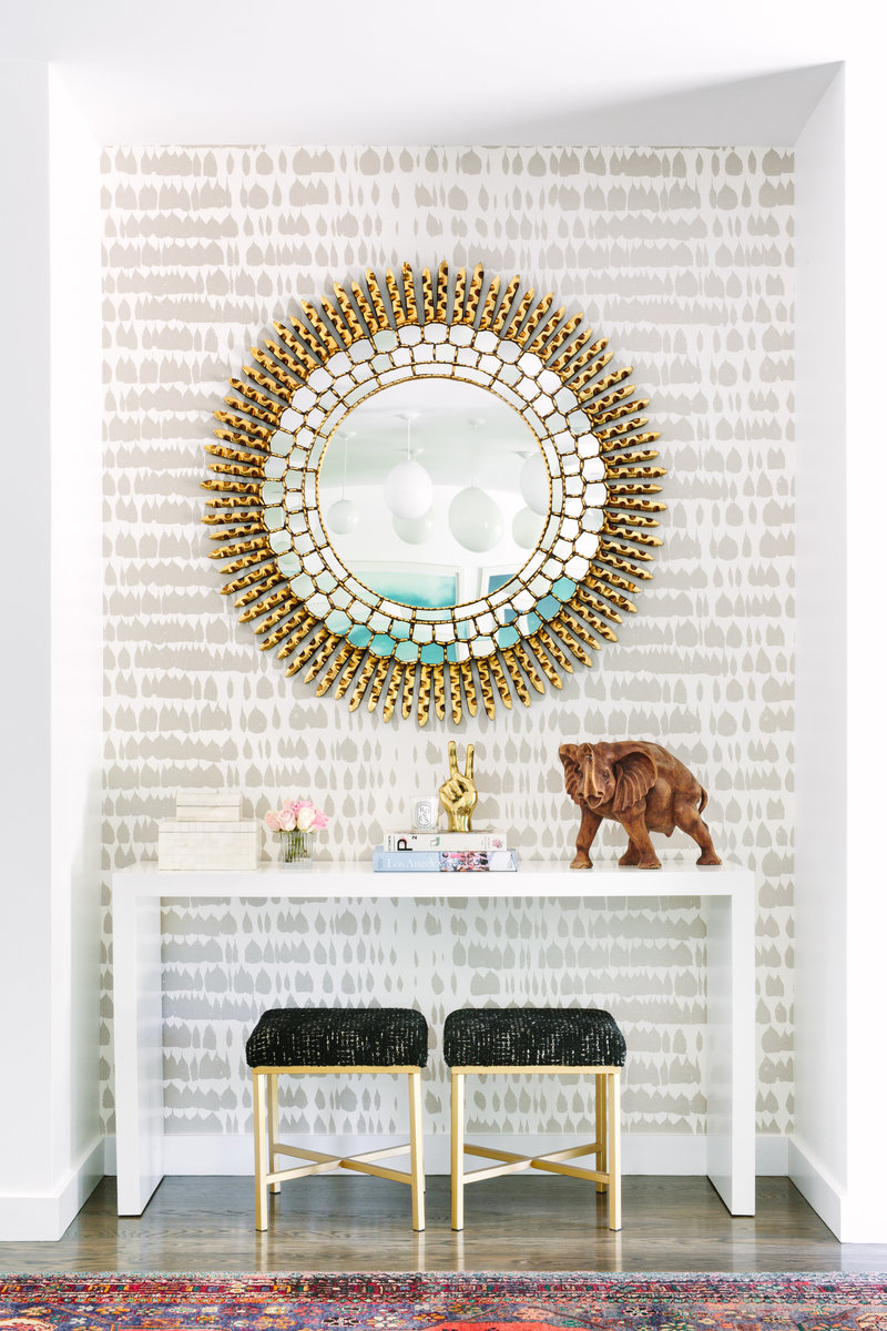 Glamour-Nest-Encino-Eclectic-Glamour-Interior-Design-Entryway-02