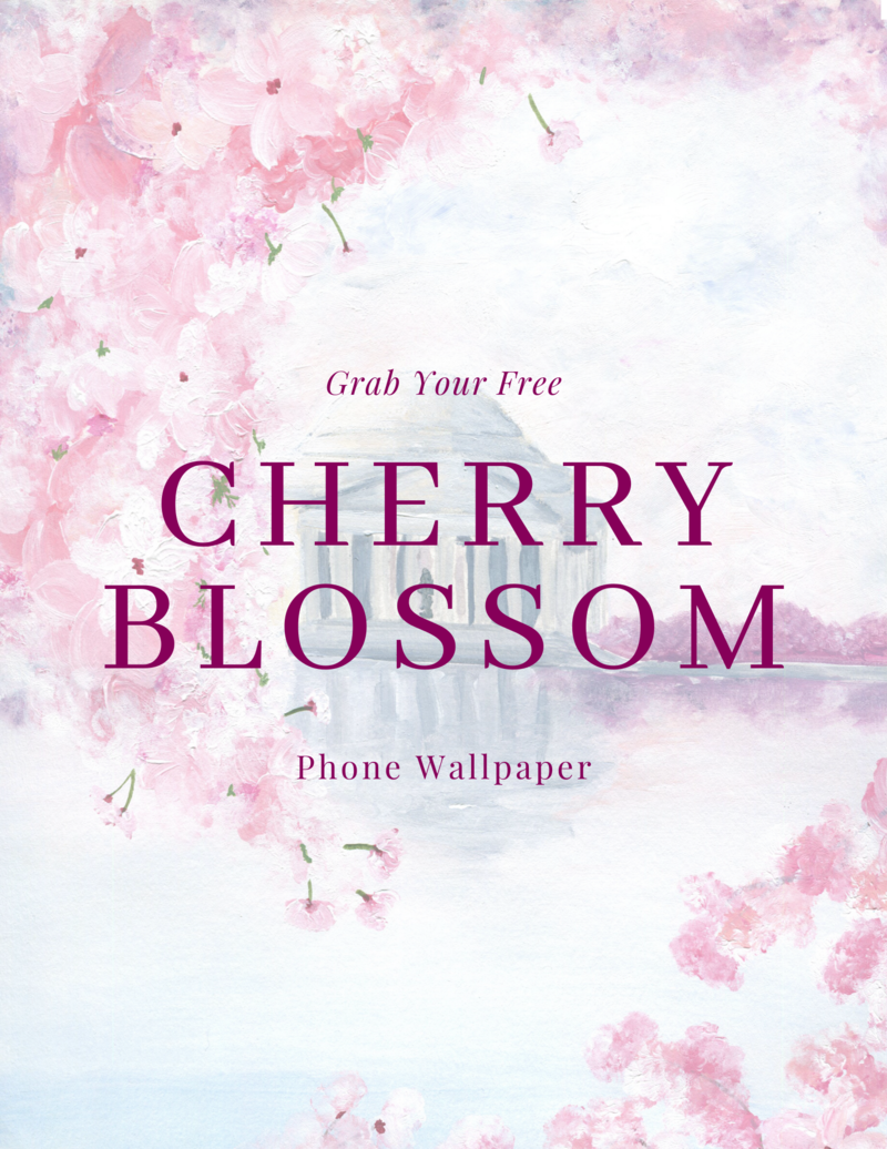 CherryBlossomWallpaperGraphic