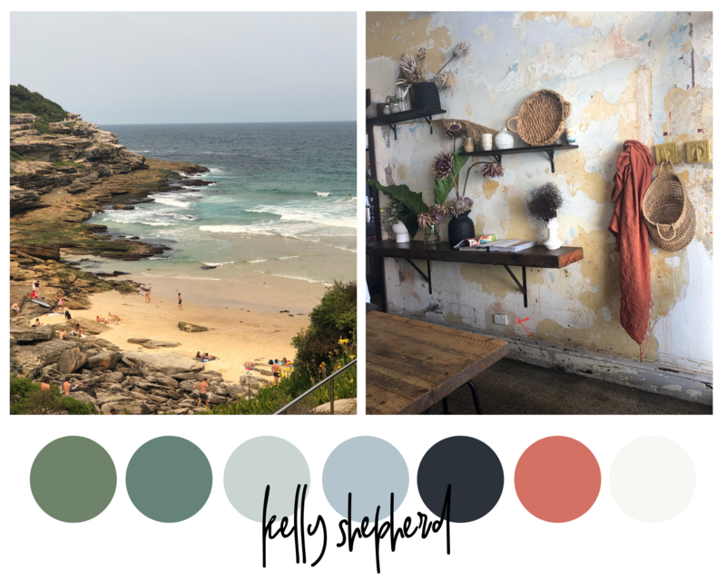 Kelly mood board