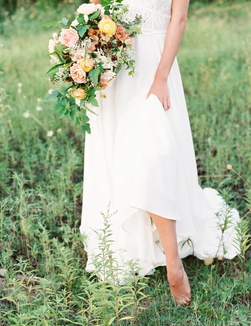 Wild Flower Wedding Bouquet, Kansas City, Missouri