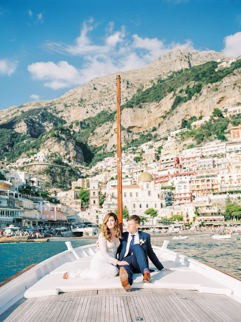 Positano-wedding-with-a-boat-ride