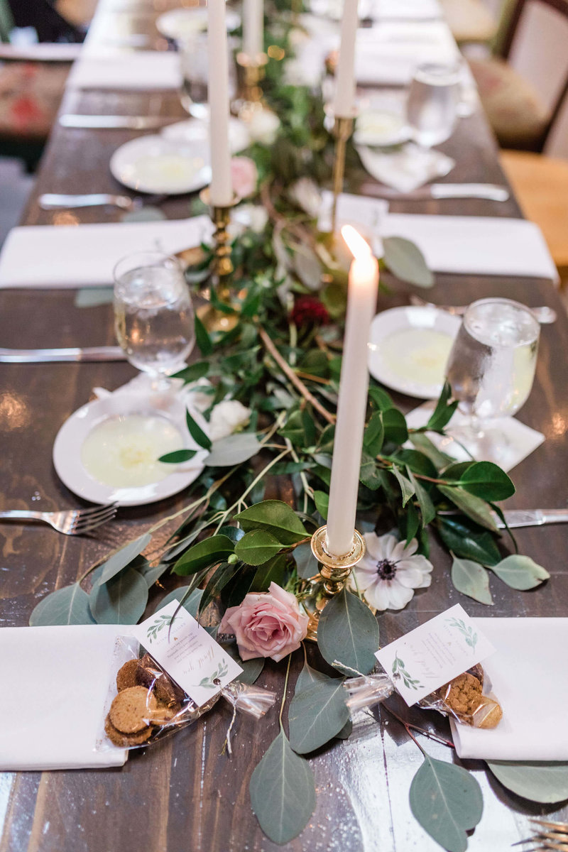 Soho South Cafe Wedding Reception by Apt. B Photography