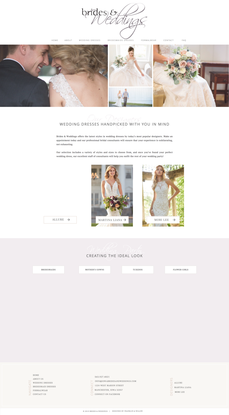 Custom Showit Website Designer