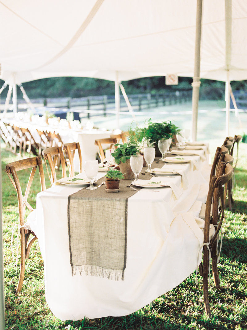 alabama outdoor fall tent brunch reception