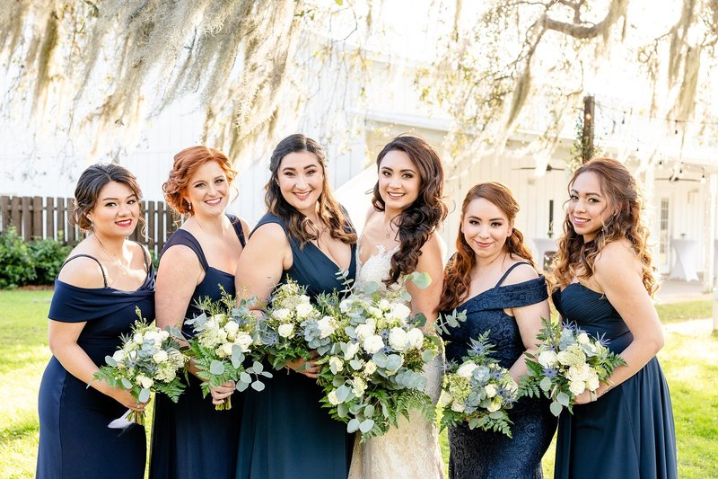 Ever After Farms Wedding | Bridal Party photos