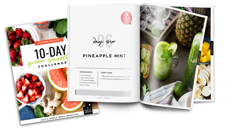 10 Day Smoothie Challenge Guidebook