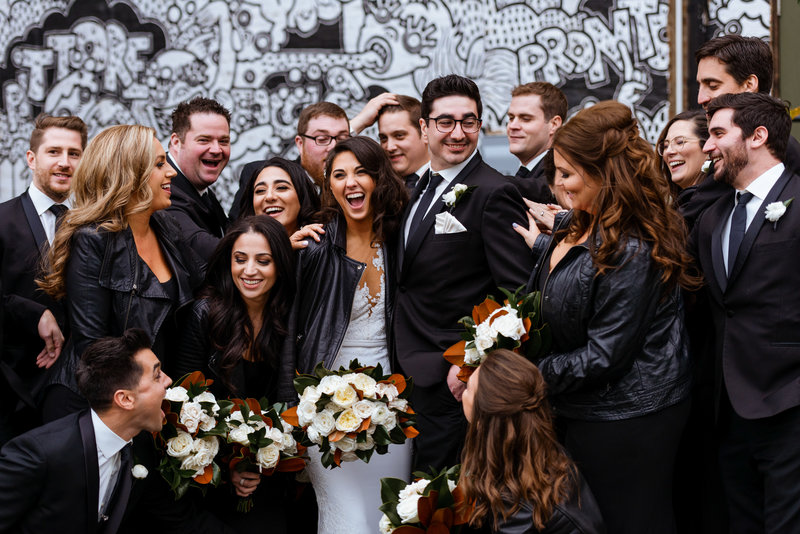 Wedding-Party-Ideas-Leather-Jackets