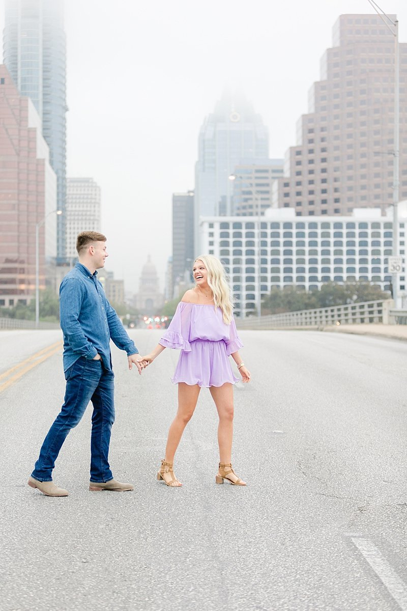 Downtown Austin Engagement Session Holly Marie 7