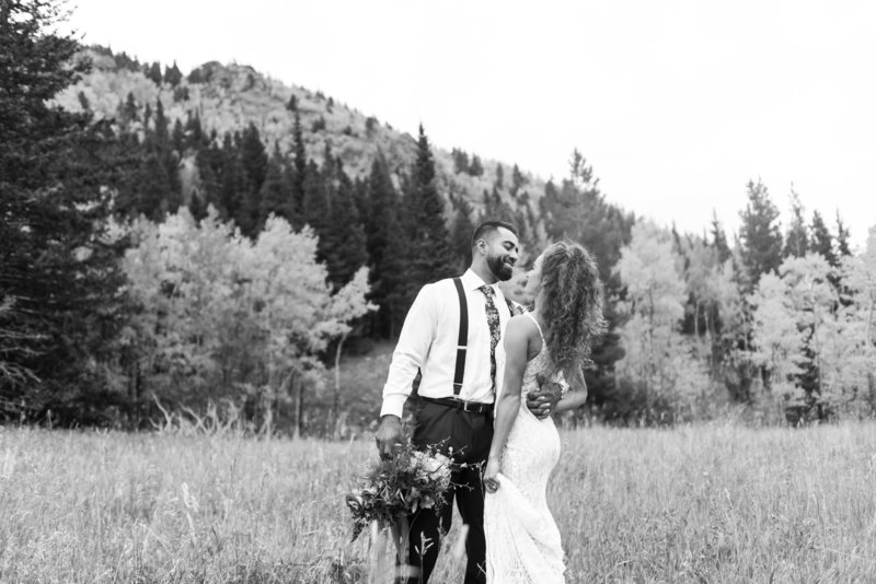 Estes Park Fall Wedding