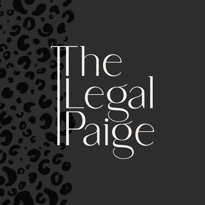 The Legal Paige Brand and Logo Design