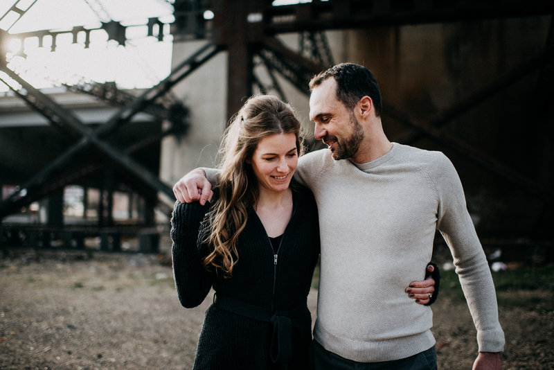 Industrial Downtown St Louis Engagement Session (10)