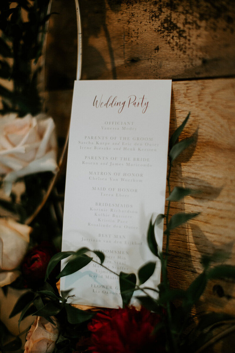 pirouettepaper.com | Wedding Stationery, Signage and Invitations | Pirouette Paper Company | Menus + Programs 59