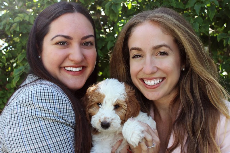 Jennifer and Candice the Co-Founders of The Brunchin' Pup
