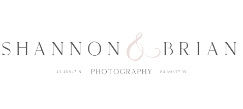 Shannon and Brian Photography Logo