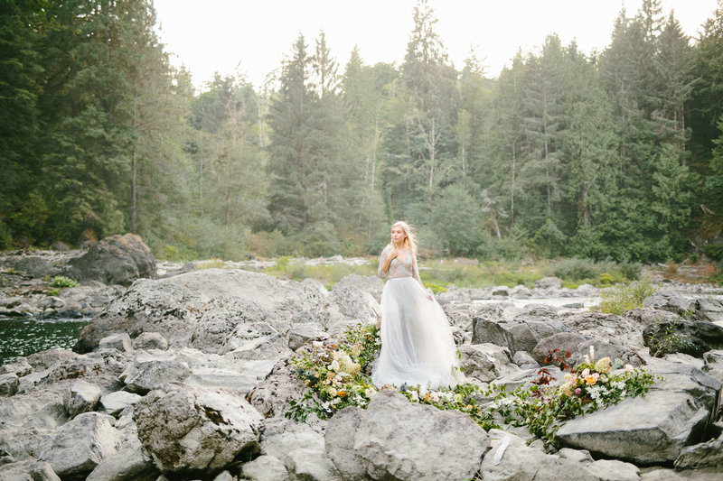 -smith house photography - Snoqualmie Falls Bridal Portraits -43