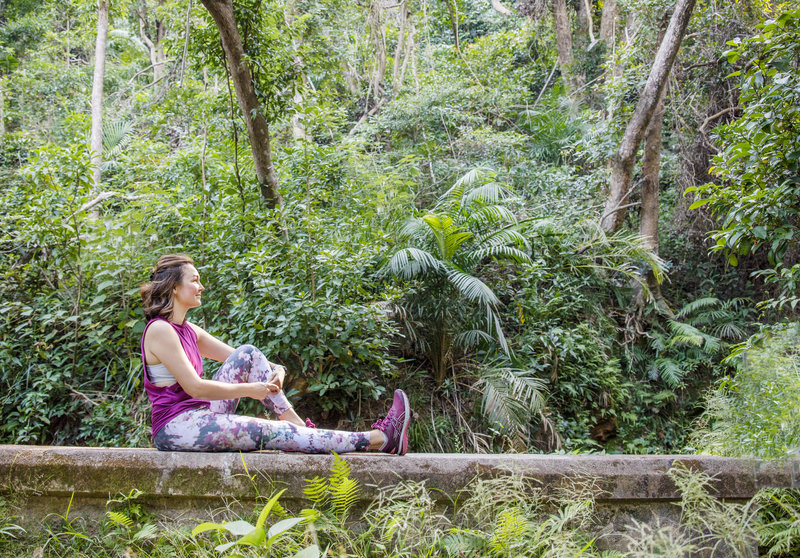 Life coach SIobhan Barnes enjoys time spent in nature