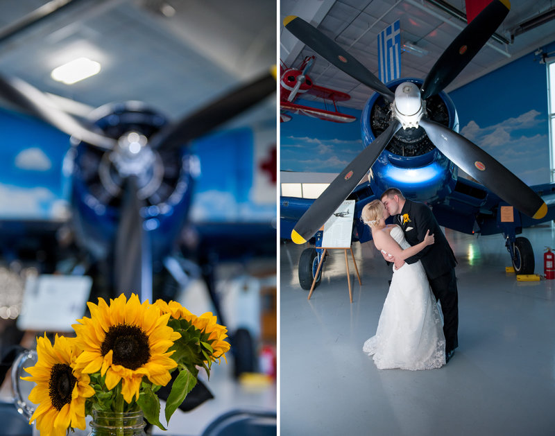 Fargo Air Museum Wedding Venue Kris Kandel Photographers (8)
