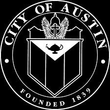 city of austin logo white