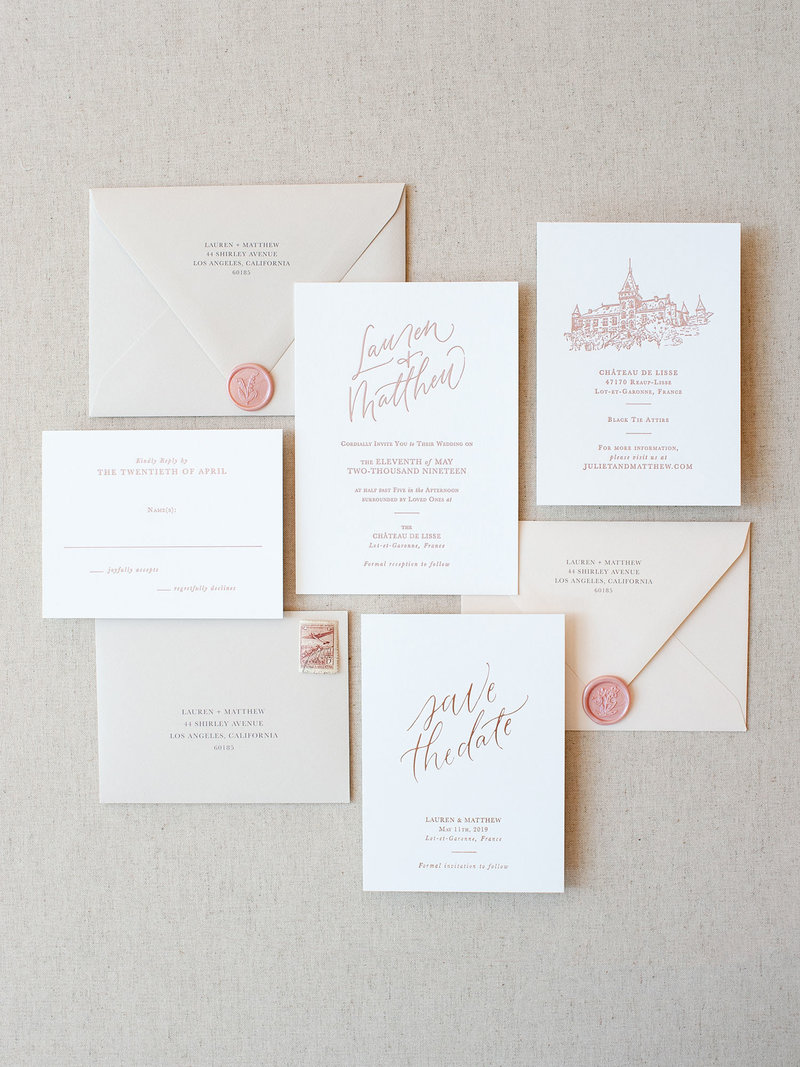 Simple Elegance Semi-Custom Invitations