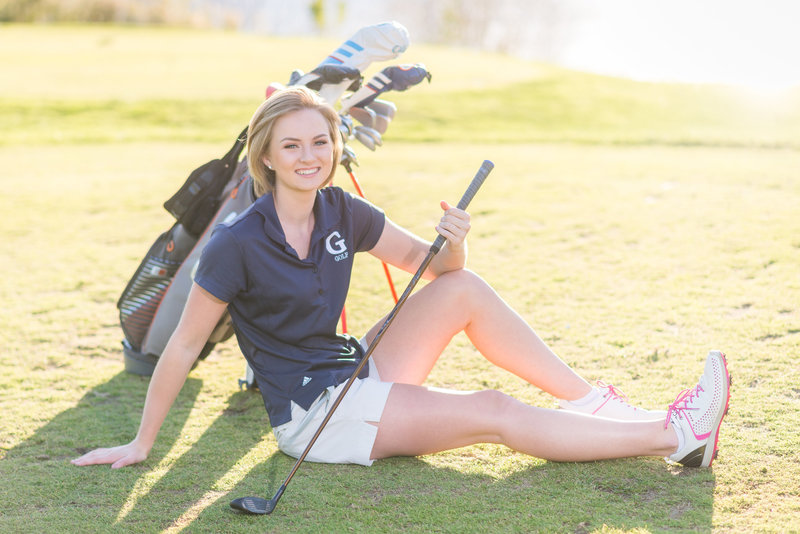 golf - senior - pictures - frederick - maryland - mary - sarah - photography   (1 of 1)