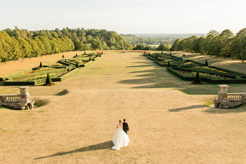 cliveden house wedding portraits