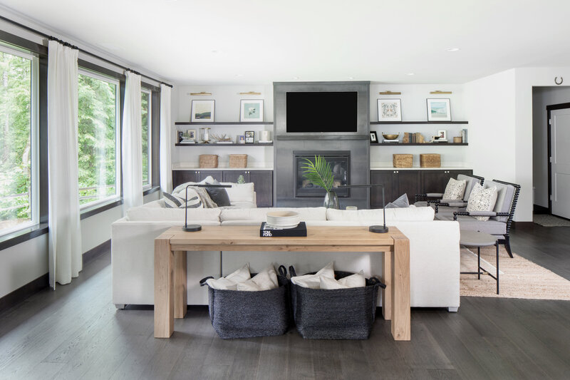 2. Casual Modern Living Room By Seattle Interior Designer K. Peterson Design-4896b
