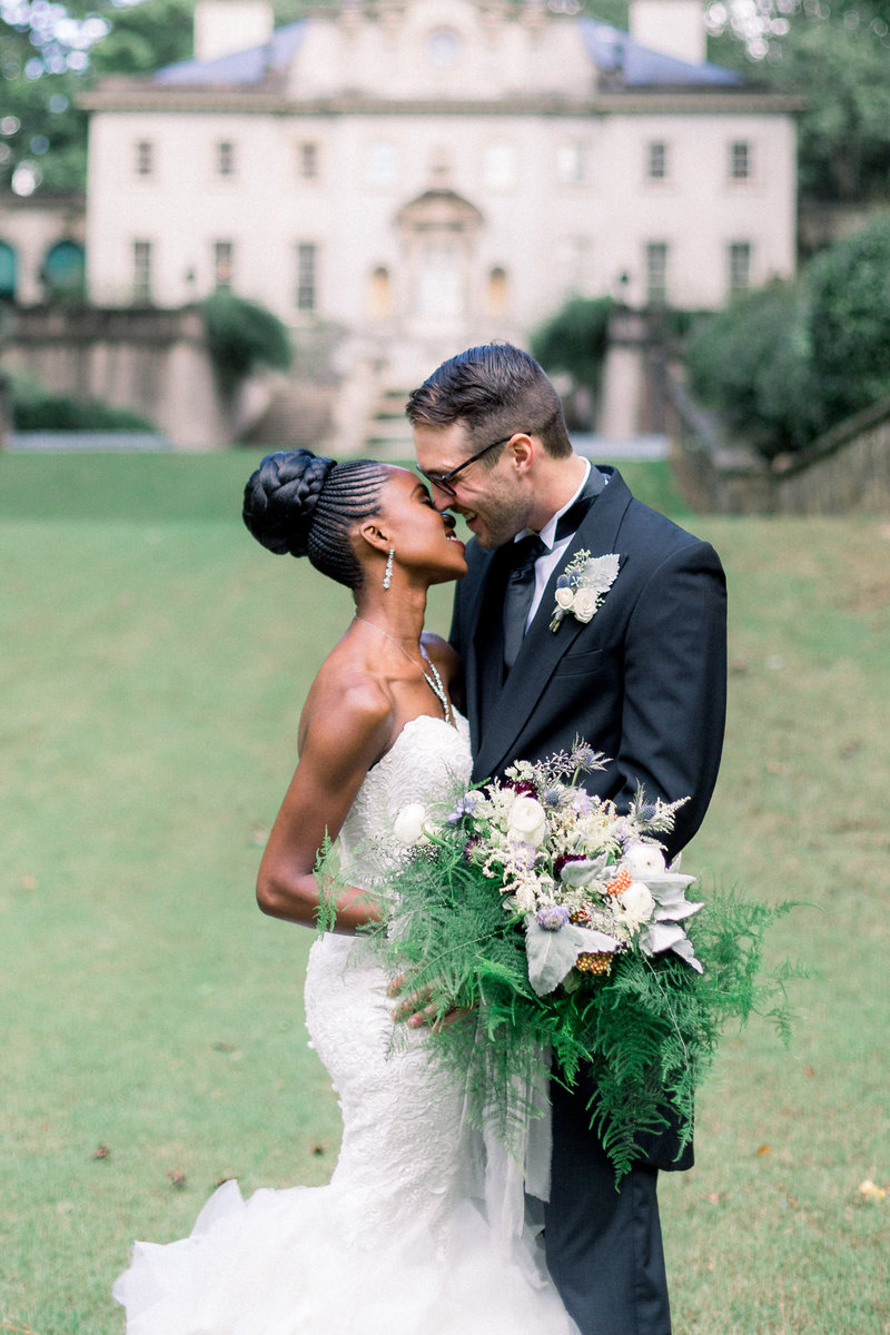 Swan House Ballroom Wedding in Atlanta by Leigh Wolfe Photography