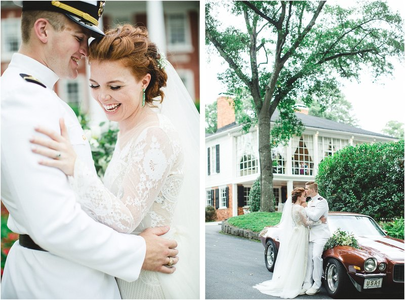 the estate atlanta military wedding